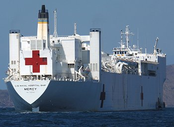 All hands on deck how radiological staff can help on hospital ships dili east timor august 29 2006 military sealift command hospital ship usns mercy t ah 19 us navy photo by chief mass communications specialist stopboris Images