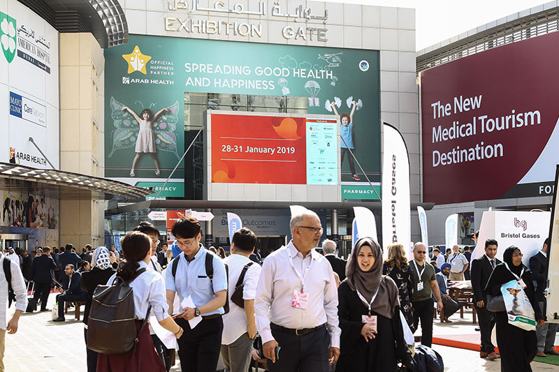 84,000 attendees are expected at Arab Health 2019 in Dubai, United Arab Emirates