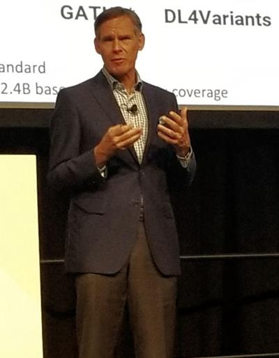 Dr. Eric Topol speaking at GTC 2019
