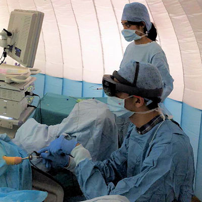 AR may boost efficiency of minimally invasive surgery