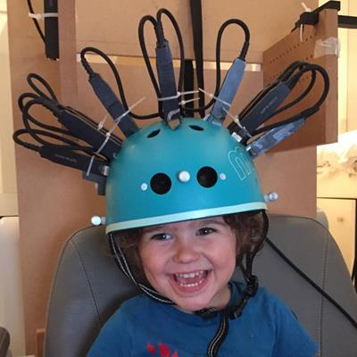 MEG helmet enables 3D functional brain imaging in kids
