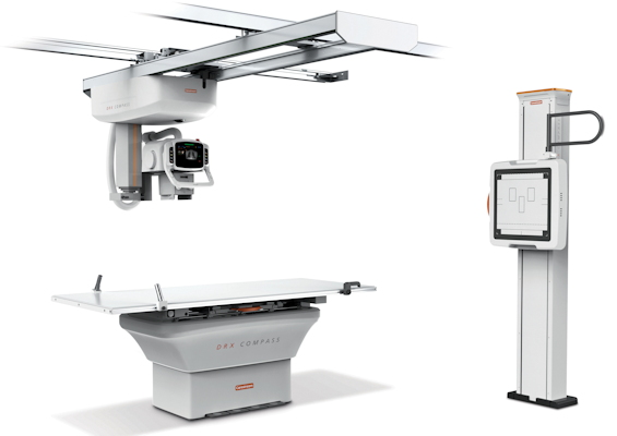 The Carestream DRX-Compass x-ray system