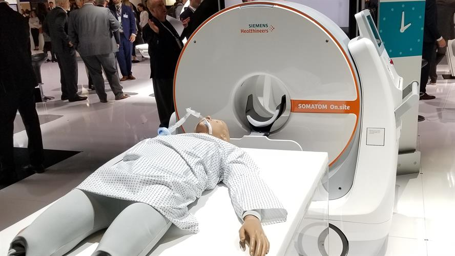 Somatom On.site portable head CT scanner