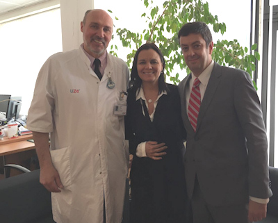 Drs. Pablo Soffia, Julia Palma, and Paul Parizel