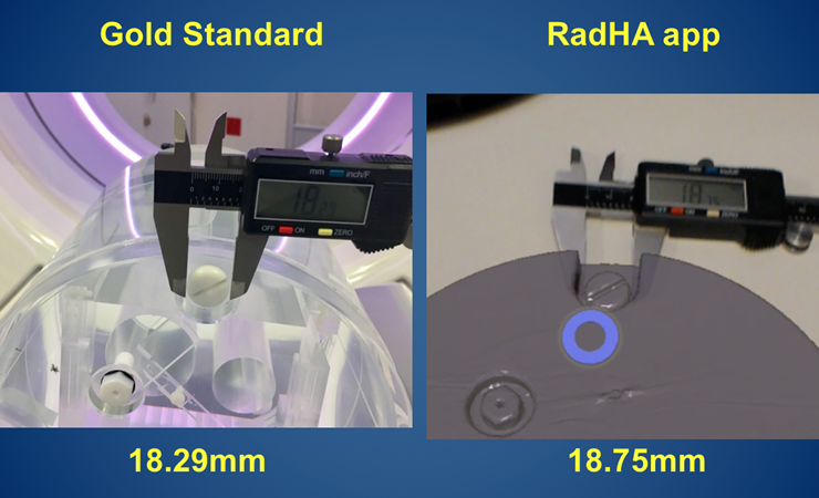 Matching AR and standard measurements