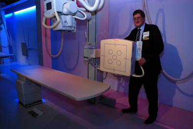 Philips is featuring its DigitalDiagnost DR system.