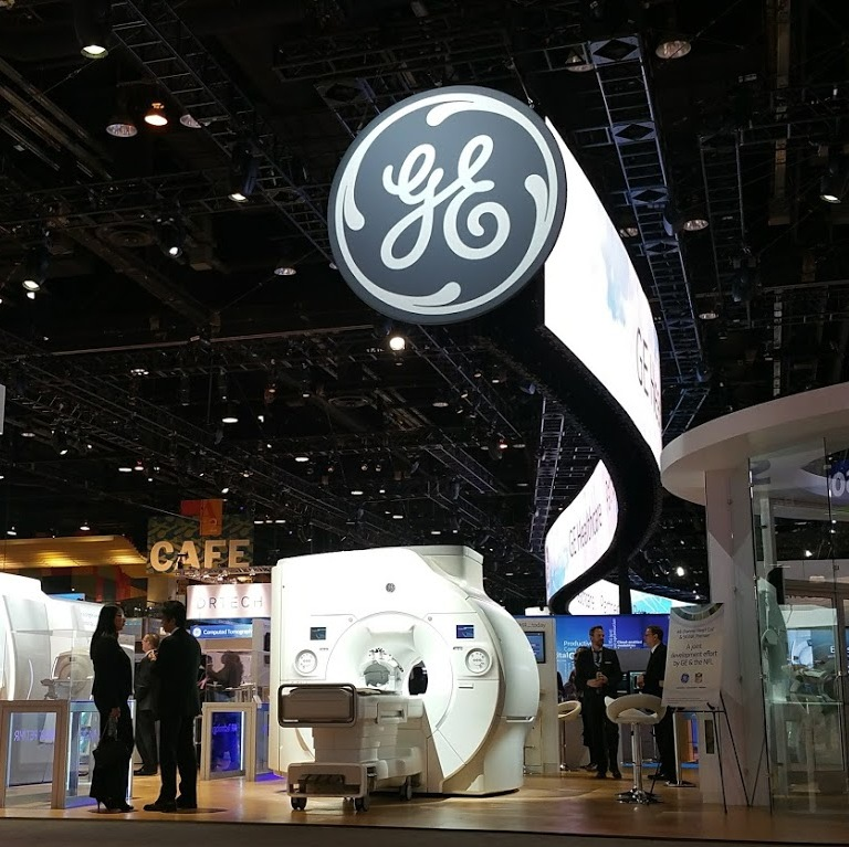 GE Healthcare numbers stand out in gloomy Q3