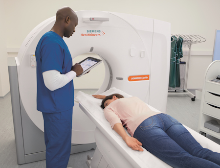 Somatom go.Up CT scanner