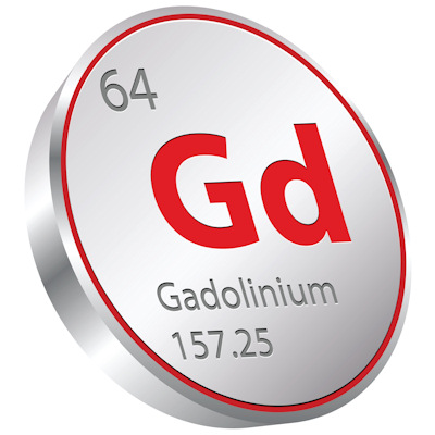 Gadolinium retention
