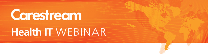 Carestream Health IT Webinar